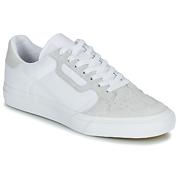 Chaussures Baskets basses adidas Originals CONTINENTAL VULC Blanc / beige