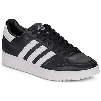 Chaussures Baskets basses adidas Originals MODERN 80 EUR COURT Noir / blanc