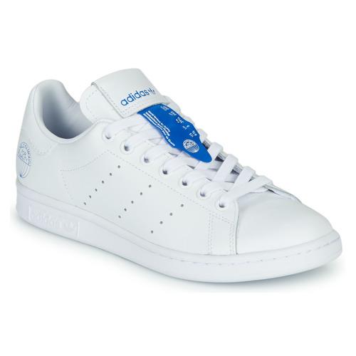 Chaussures Baskets basses adidas Originals STAN SMITH Blanc