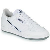 Chaussures Baskets basses adidas Originals CONTINENTAL 80 Blanc / bleu
