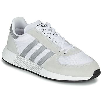 Chaussures Baskets basses adidas Originals MARATHON TECH Blanc / beige