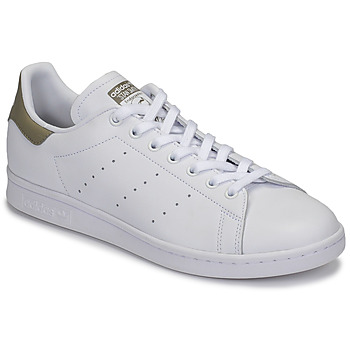 Chaussures Baskets basses adidas Originals STAN SMITH Blanc / beige