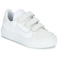 Chaussures Enfant Baskets basses adidas Originals CONTINENTAL VULC CF C Blanc / beige