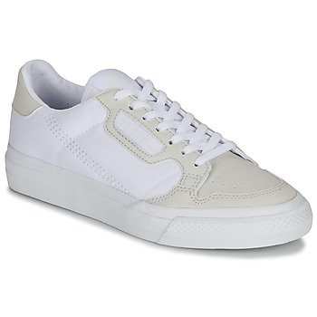 Chaussures Enfant Baskets basses adidas Originals CONTINENTAL VULC J Blanc / beige