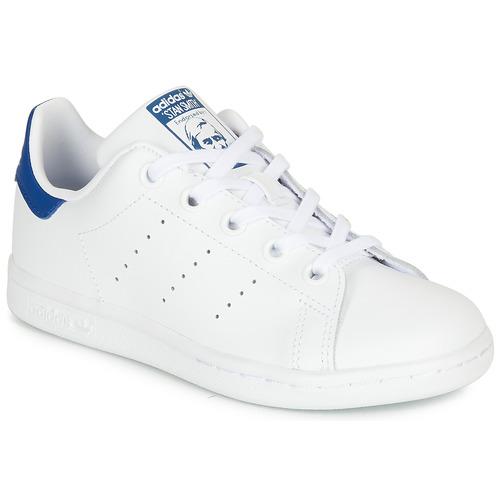 adidas originals baskets basses stan smith bleu