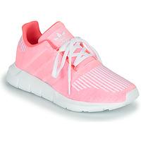Chaussures Fille Baskets basses adidas Originals SWIFT RUN J Rose