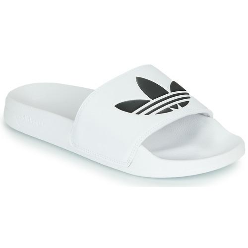 adidas Originals ADILETTE LITE Blanc - Livraison Gratuite