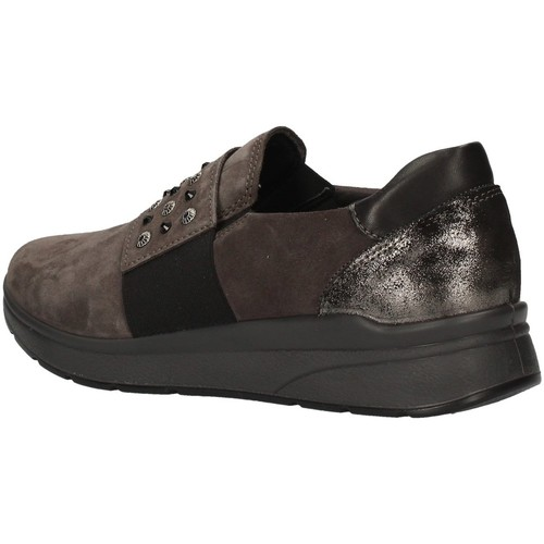 Imac 406661 Gris - Chaussures Slip Ons Femme 55
