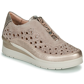 Chaussures Femme Baskets basses Stonefly CREAM 22 Beige / Doré