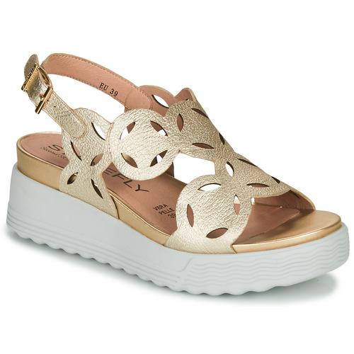 Chaussures Femme Sandales et Nu-pieds Stonefly PARKY 9 Doré
