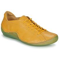 Chaussures Femme Baskets basses Think KAPSL Jaune / Vert