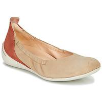 Chaussures Femme Ballerines / babies Think CUGAL Beige / Rouge
