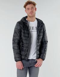 Vêtements Homme Doudounes Guess SUPER LIGHT ECO-FRIENDLY JKT Noir