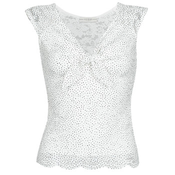 Vêtements Femme Tops / Blouses Guess GIUNONE TOP Blanc