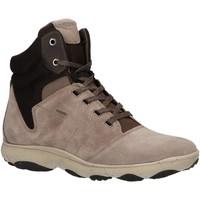Chaussures Femme Baskets montantes Geox D746TA 02214 D NEBULA Beige