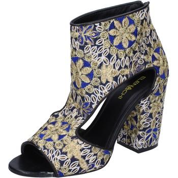 Chaussures Femme Bottines Elena Iachi bottines textile noir