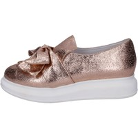 Chaussures Femme Slip ons Jeffrey Campbell slip on cuir rose