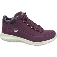 Chaussures Femme Baskets montantes Skechers Ultra Flex Bordeaux