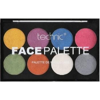 Beauté Femme Palettes maquillage yeux Technic Face palette de maquillage Metallic   16g Multicolore