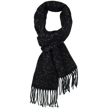 Accessoires textile Femme Echarpes / Etoles / Foulards Qualicoq Echarpe Cassiopée - Couleur - Noir - Fabriqué en France Noir