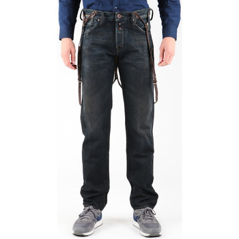 Vêtements Homme Jeans droit Guess Franklin Comfort M14A07D0HM1 grafitowy