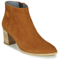 Chaussures Femme Bottines Myma LASTICO Camel