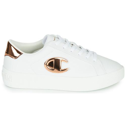 Champion Era Gem Blanc / Bronze - Livraison Gratuite- Chaussures Baskets Basses Femme 7999 thQ65