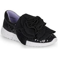 Chaussures Femme Baskets basses Irregular Choice RAGTIME RUFFLES Noir