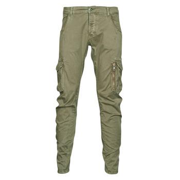 Vêtements Homme Pantalons cargo Le Temps des Cerises ALBAN Kaki