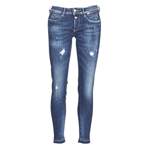 Vêtements Femme Jeans slim Le Temps des Cerises PULP SLIM 7/8 Bleu