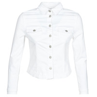 Vêtements Femme Vestes en jean Le Temps des Cerises LILLY WHITE