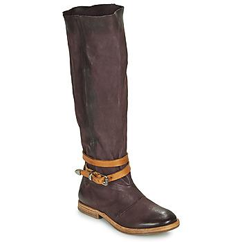Chaussures Femme Bottes ville Airstep / A.S.98 ZEPORT HIGH Violet