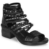 Chaussures Femme Sandales et Nu-pieds Airstep / A.S.98 KENYA Noir