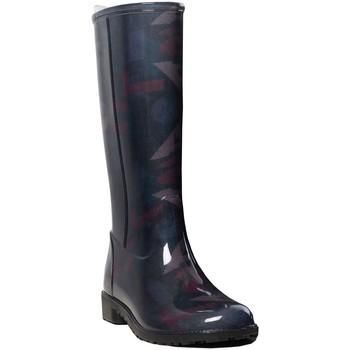 Chaussures Femme Bottes de pluie Desigual Bottes  ref_47697 2000 Noir noir