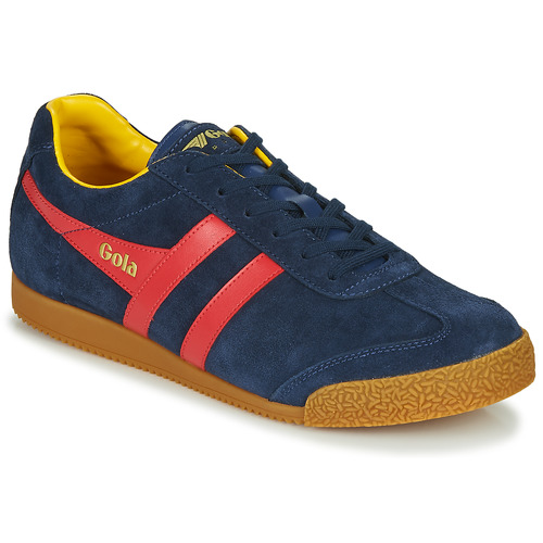 Chaussures Homme Baskets basses Gola HARRIER Marine / rouge