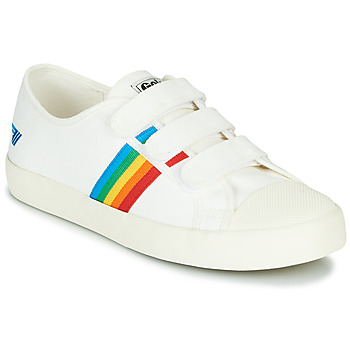 Chaussures Femme Baskets basses Gola COASTER RAINBOW VELCRO Blanc