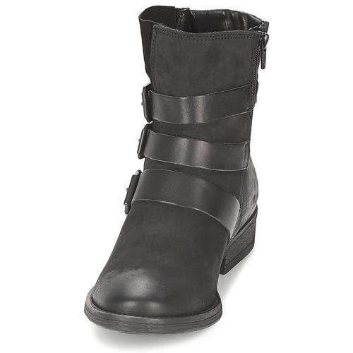 Noir Femme Boots Bullboxer Chaussures Aximo D29HWEI