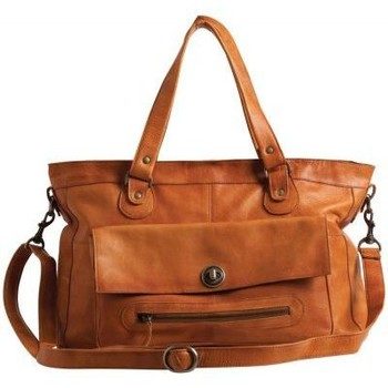Sacs Femme Sacs porté main Pieces Sac en cuir  Totally Royal marron