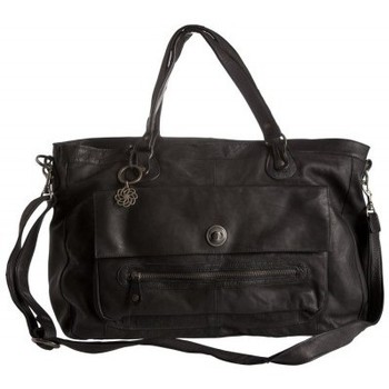Sacs Femme Sacs porté main Pieces Sac en cuir Totally Royal noir