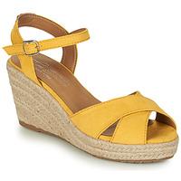 Chaussures Femme Sandales et Nu-pieds Tom Tailor 8090105 Jaune