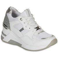 Chaussures Femme Baskets basses Tom Tailor 8091512 Blanc / Argenté