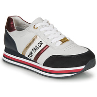 Chaussures Femme Baskets basses Tom Tailor 8095504 Blanc / Bleu / Rouge