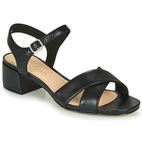 Chaussures Femme Sandales et Nu-pieds Clarks SHEER35 STRAP Noir