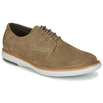 Chaussures Homme Derbies Clarks DRAPER LACE Beige
