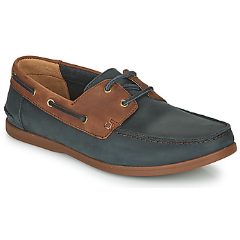 Chaussures Homme Derbies Clarks PICKWELL SAIL Marine / Marron