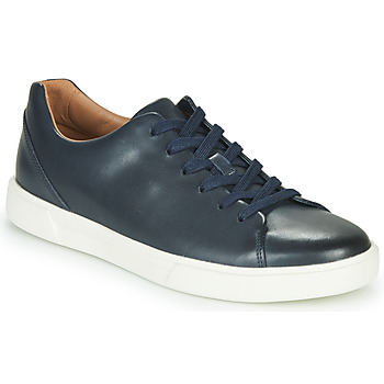 Chaussures Homme Baskets basses Clarks UN COSTA LACE Marine