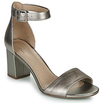 Chaussures Femme Sandales et Nu-pieds Clarks DEVA MAE Argenté