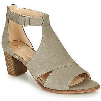 Chaussures Femme Sandales et Nu-pieds Clarks KAYLIN60 GLAD Taupe