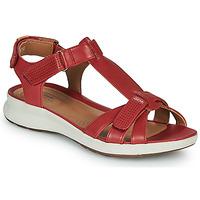 Chaussures Femme Sandales et Nu-pieds Clarks UN ADORN VIBE Rouge