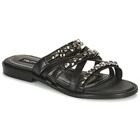 Chaussures Femme Mules Tosca Blu CUBA Noir